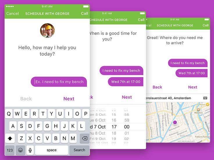 Conversational UI Latest Web Design Trend