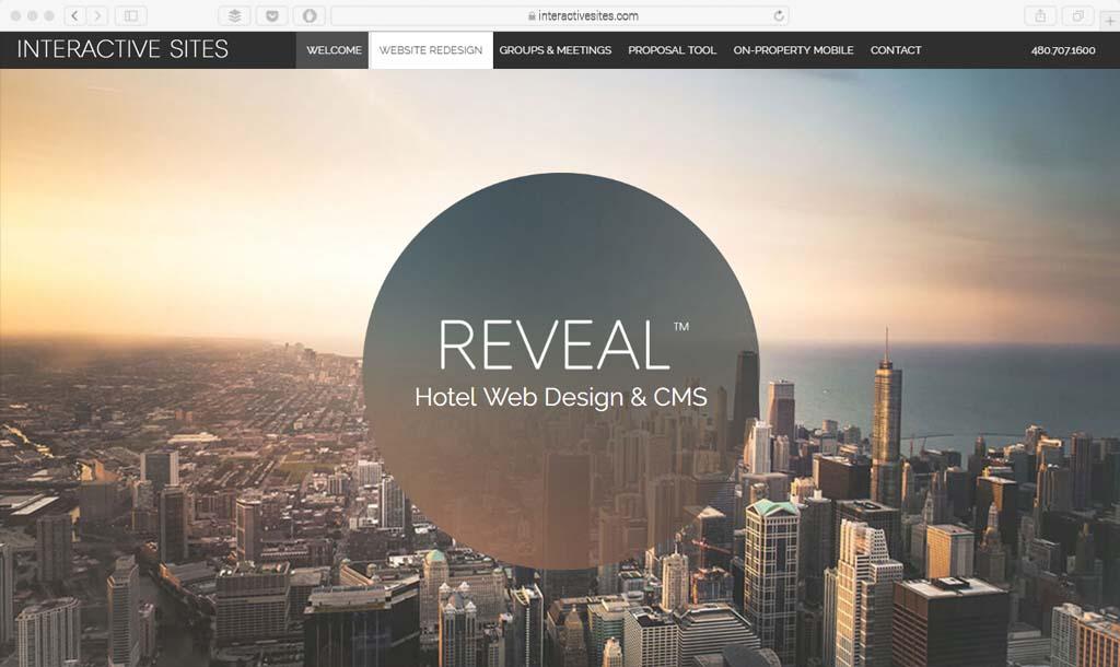interactivesites Example gradient web design
